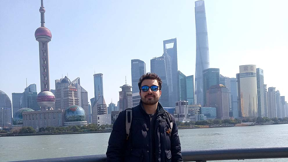 Student mobility in the time of COVID-19. Andrea Riccio, Exchange student at Groupe ESSCA Shanghai (Shanghai, China)