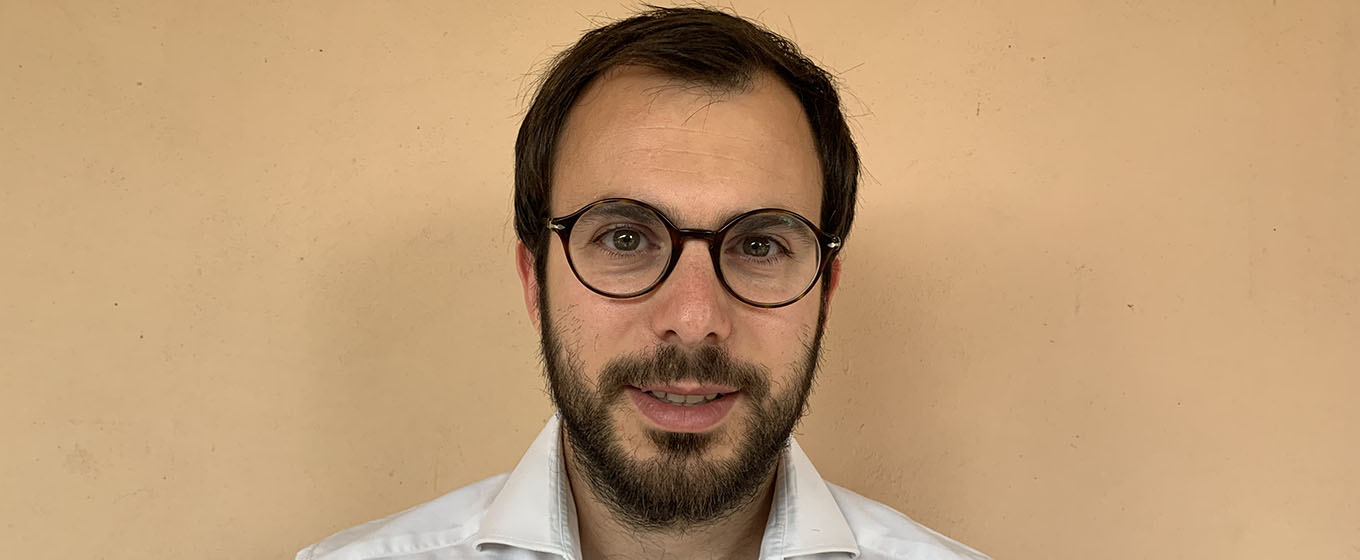 Dr Edoardo Cola, resident in gynaecology