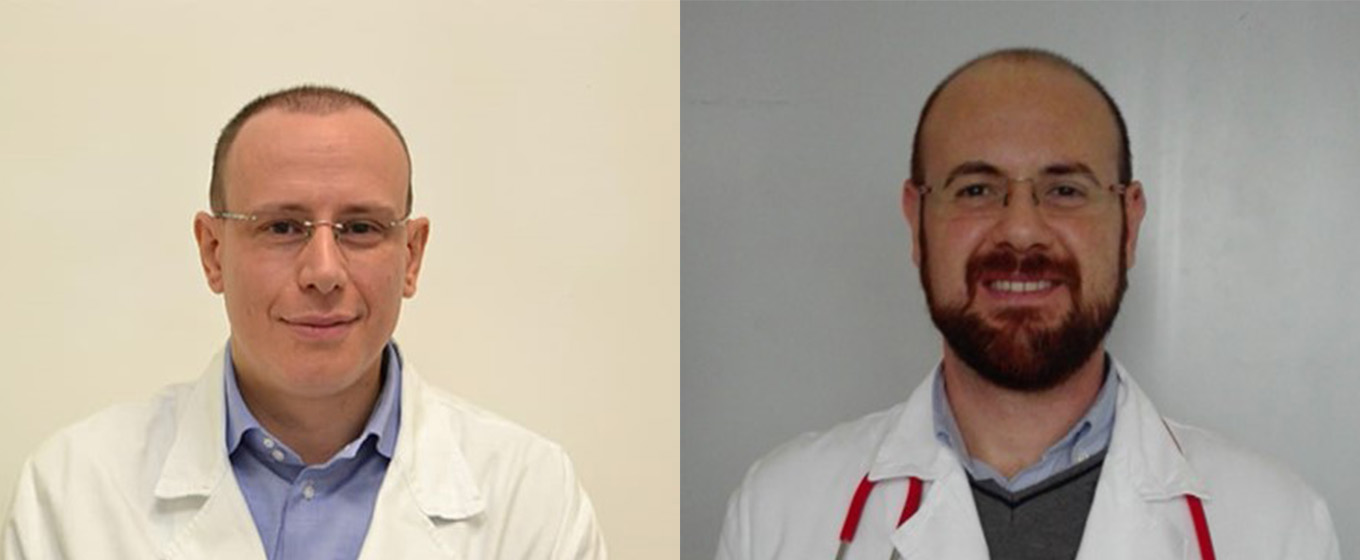 Dr Riccardo Inchingolo and Dr Andrea Smargiassi - Medical directors at UOC Pneumologia Policlinico Universitario Agostino Gemelli IRCCS
